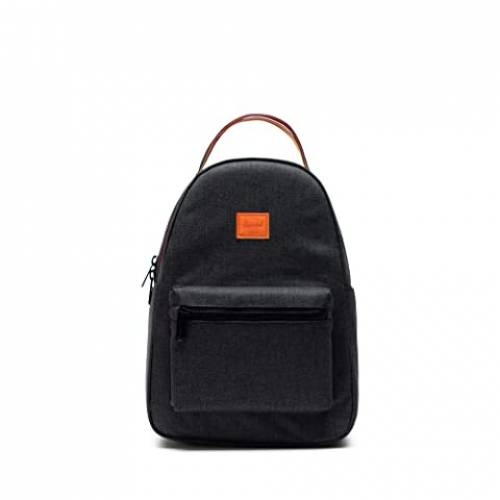 HERSCHEL SUPPLY CO. バッグ ユニセックス 【 Nova Small 】 Black Crosshatch Sunset