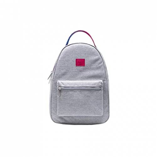 HERSCHEL SUPPLY CO. バッグ ユニセックス 【 Nova Small 】 Light Grey Crosshatch Sunrise