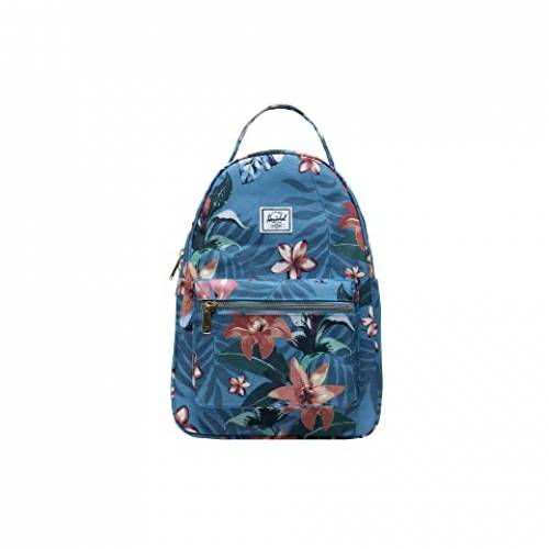 HERSCHEL SUPPLY CO. バッグ ユニセックス 【 Nova Small 】 Summer Floral Heaven Blue