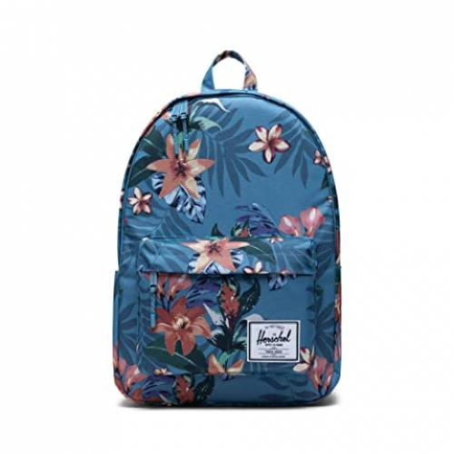 HERSCHEL SUPPLY CO. クラシック バッグ ユニセックス 【 Classic X-large 】 Summer Floral Heaven Blue