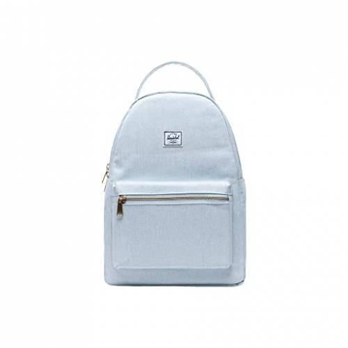 HERSCHEL SUPPLY CO. バッグ ユニセックス 【 Nova Mid-volume 】 Ballad Blue Pastel Crosshatch