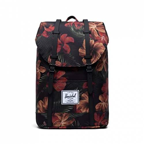 HERSCHEL SUPPLY CO. バッグ ユニセックス 【 Retreat 】 Tropical Hibiscus