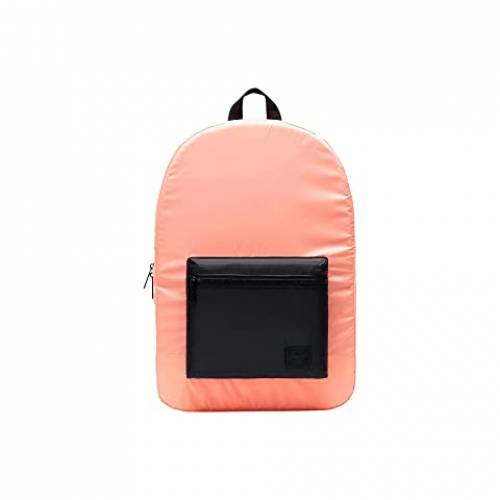 HERSCHEL SUPPLY CO. バッグ ユニセックス 【 Packable Daypack 】 Neon Orange/black