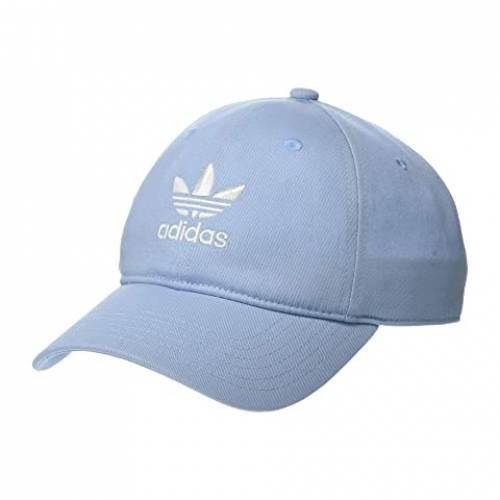 アディダスオリジナルス ADIDAS ORIGINALS バッグ キャップ 帽子 メンズキャップ メンズ 【 Originals Relaxed Strapback Hat 】 Clear Sky Blue/white