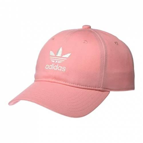 アディダスオリジナルス ADIDAS ORIGINALS バッグ キャップ 帽子 メンズキャップ メンズ 【 Originals Relaxed Strapback Hat 】 Glory Pink/white