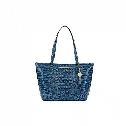 BRAHMIN バッグ レディース 【 Melbourne Medium Asher Bag 】 Bluebonnet