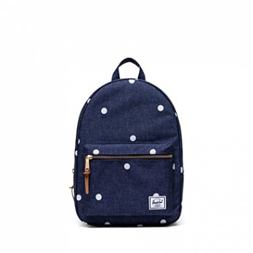 HERSCHEL SUPPLY CO. バッグ ユニセックス 【 Grove X-small 】 Polka Dot Crosshatch Peacoat