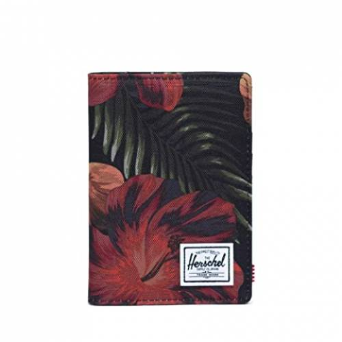 HERSCHEL SUPPLY CO. バッグ ユニセックス 【 Raynor Passport Holder Rfid 】 Tropical Hibiscus
