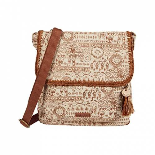SAKROOTS バックパック バッグ リュックサック レディース 【 Artist Circle Convertible Backpack 】 Tobacco Batik World