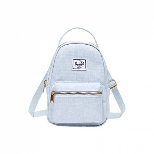 HERSCHEL SUPPLY CO. バッグ ユニセックス 【 Nova Crossbody 】 Ballad Blue Pastel Crosshatch