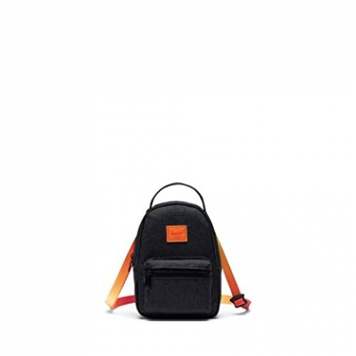 HERSCHEL SUPPLY CO. バッグ ユニセックス 【 Nova Crossbody 】 Black Crosshatch Sunset
