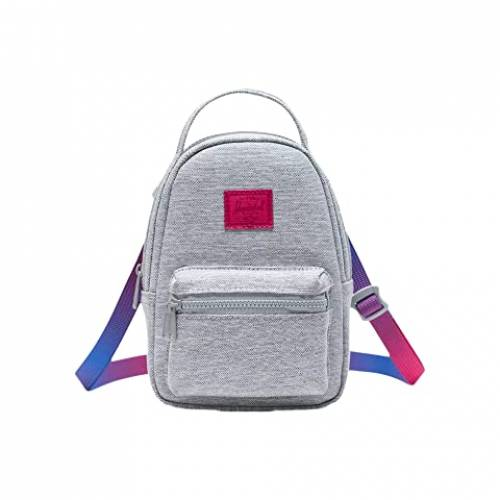 HERSCHEL SUPPLY CO. バッグ ユニセックス 【 Nova Crossbody 】 Light Grey Crosshatch Sunrise