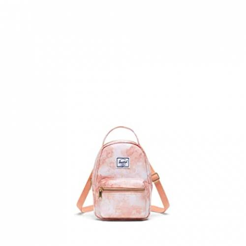 HERSCHEL SUPPLY CO. バッグ ユニセックス 【 Nova Crossbody 】 Pastel Cloud Papaya