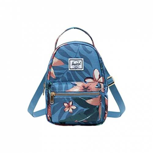 HERSCHEL SUPPLY CO. バッグ ユニセックス 【 Nova Crossbody 】 Summer Floral Heaven Blue