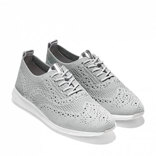 コールハーン COLE HAAN オックスフォード GRAY灰色 グレイ ニット 白 ホワイト 2.ZEROGRAND 【 GREY WHITE COLE HAAN STITCHLITE OXFORD CH ARGENTO GLACIER KNIT OPTIC 】