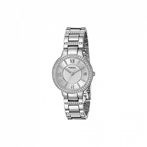 FOSSIL バージニア ウォッチ 時計 銀色 シルバー ステンレス スチール 【 WATCH SILVER FOSSIL VIRGINIA THREEHAND ES3282 STAINLESS STEEL 】 腕時計 レディース腕時計