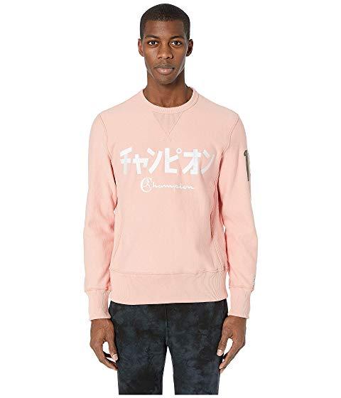 【海外限定】チャンピオン ロゴ リベンジ + メンズファッション トレーナー 【 CHAMPION TODD SNYDER JAPANESE LOGO REVERSE WEAVE SWEATSHIRT 】