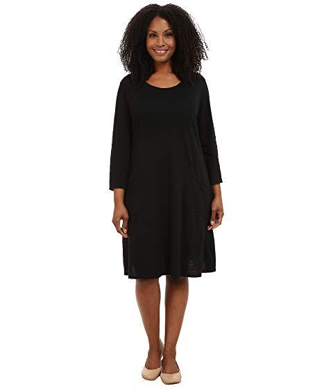 FRESH PRODUCE フレッシュ ドレス 黒 ブラック 【 BLACK FRESH PRODUCE PLUS SIZE DALIA DRESS 】 レディースファッション ワンピース