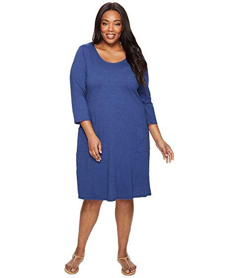 【スーパーセール中! 6/11深夜2時迄】FRESH PRODUCE ドレス レディースファッション ワンピース レディース 【 Plus Size Dalia Dress 】 Moonlight Blue