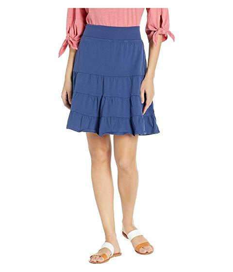 FRESH PRODUCE ジャージ レディースファッション ボトムス スカート レディース 【 Jersey Tiered Skirt 】 Moonlight Blue