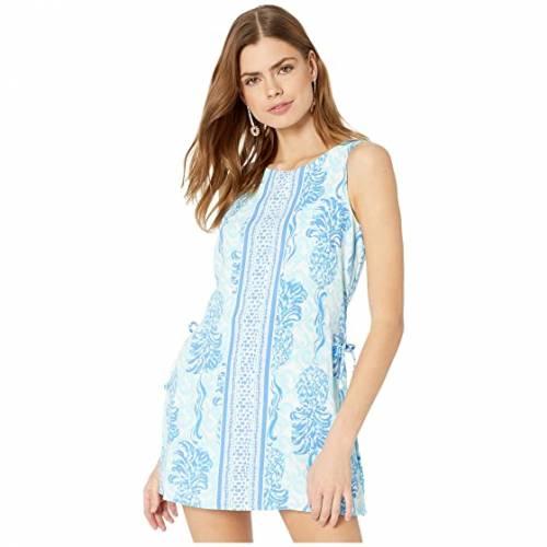 【スーパーセール中! 6/11深夜2時迄】LILLY PULITZER レディースファッション ワンピース レディース 【 Donna Romper 】 Bennet Blue Out Of The Blue Engineered