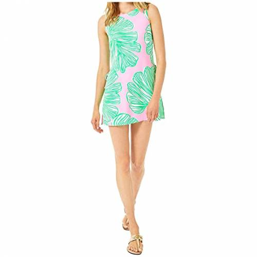 LILLY PULITZER 【 LILLY PULITZER DONNA ROMPER MANDEVILLA BABY WHO LET THE FRONDS OUT 】 レディースファッション ワンピース