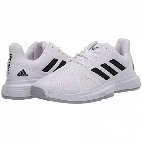 アディダス ADIDAS スニーカー メンズ 【 Courtjam Bounce 】 Footwear White/core Black/matte Silver