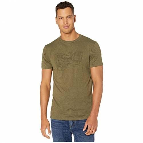 TENTREE スリーブ Tシャツ 緑 グリーン ヘザー 【 SLEEVE GREEN HEATHER TENTREE NOMAD SHORT TEE MOSS 】 メンズファッション トップス Tシャツ カットソー