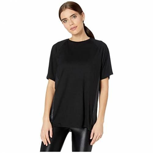 【★スーパーセール中★ 9/11深夜2時迄】KORAL Tシャツ 黒 ブラック 【 BLACK KORAL TRAIN MARLOW TEE 】 レディースファッション トップス Tシャツ カットソー