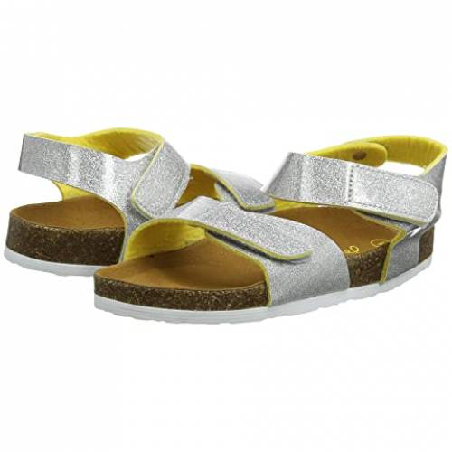 JOULES KIDS キッズ ベビー マタニティ ジュニア 【 Tippy Toes Sandal (toddler/little Kid/big Kid) 】 Silver Glitter
