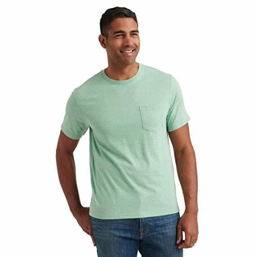 LUCKY BRAND Tシャツ ヘザー 【 HEATHER LUCKY BRAND SUNSET POCKET TEE MINT 】 メンズファッション トップス Tシャツ カットソー