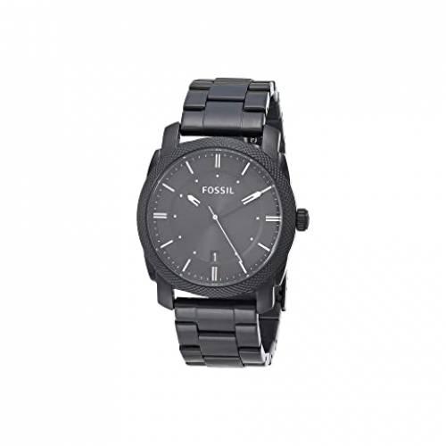 FOSSIL ウォッチ 時計 ステンレス 銀色 スチール 【 WATCH FOSSIL MACHINE THREEHAND FS4774IE SMOKE STAINLESS STEEL 】 腕時計 メンズ腕時計