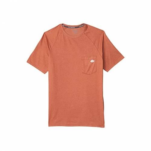 ディッキーズ DICKIES パフォーマンス Tシャツ メンズファッション トップス カットソー メンズ 【 Temp-iq Performance Cooling Tee 】 Red Rock Heather
