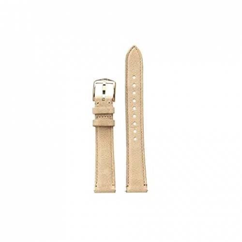 【スーパーセール中! 6/11深夜2時迄】FOSSIL レザー ウォッチ 時計 腕時計 レディース腕時計 レディース 【 16 Mm Leather Watch Band 】 S161036 Silver Beige Leather