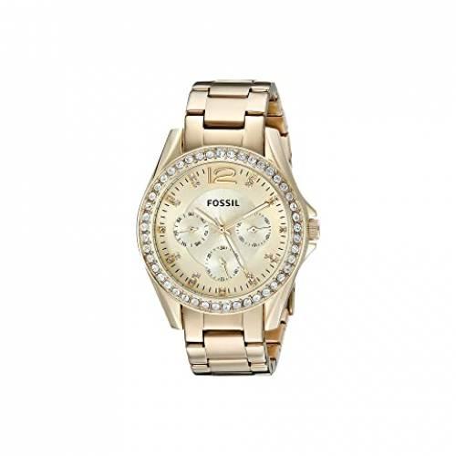 FOSSIL ウォッチ 時計 金色 ゴールド ステンレス 銀色 スチール 【 WATCH FOSSIL RILEY MULTIFUNCTION ES3203 GOLD STAINLESS STEEL 】 腕時計 レディース腕時計