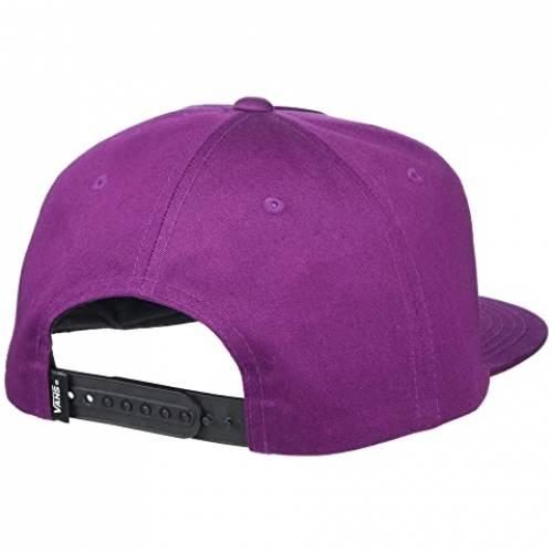 バンズ VANS バンズ スナップバック バッグ 紫 パープル 【 VANS SNAPBACK PURPLE FULL PATCH DARK 】 バッグ  キャップ 帽子 メンズキャップ 帽子