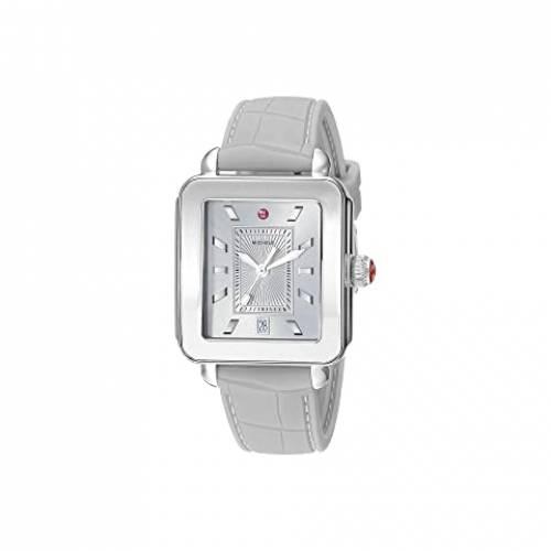 MICHELE レディース ウォッチ 時計 灰色 グレー グレイ 銀色 シルバー WOMEN'S 【 WATCH GRAY SILVER MICHELE DECO SPORT 】 腕時計 レディース腕時計