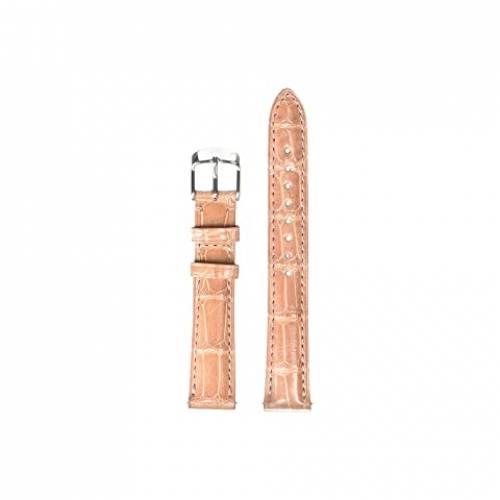 MICHELE ストラップ ピンク 【 PINK MICHELE 16 MM ALLIGATOR STRAP 】 腕時計 レディース腕時計
