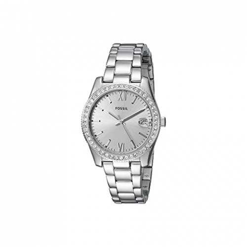 FOSSIL ウォッチ 時計 銀色 シルバー ステンレス スチール 【 WATCH SILVER FOSSIL SCARLETTE MINI THREEHAND ES4317 STAINLESS STEEL 】 腕時計 レディース腕時計