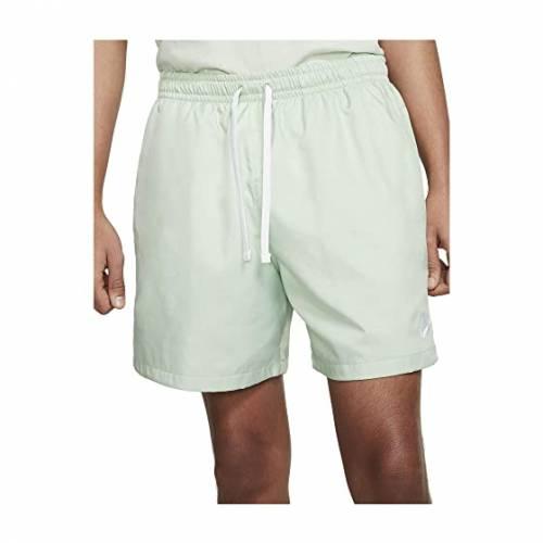 ナイキ NIKE ウーブン フローレス ショーツ ハーフパンツ 白 ホワイト 【 WOVEN WHITE NIKE NSW FLOW SHORTS PISTACHIO FROST 】 メンズファッション ズボン パンツ