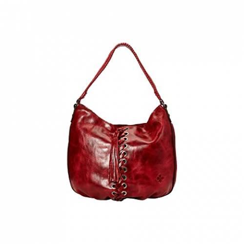PATRICIA NASH 赤 レッド 【 RED PATRICIA NASH BELLO HOBO 】 バッグ
