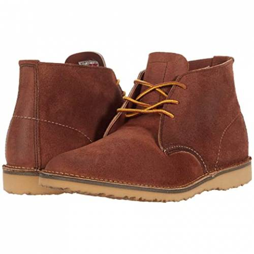 RED WING HERITAGE 赤 レッド チャッカ 【 RED WING HERITAGE WEEKEND CHUKKA MAPLE MULESKINNER 】 メンズ ブーツ