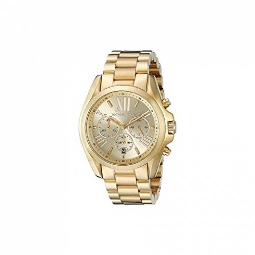 MICHAEL KORS 金色 ゴールド 【 MICHAEL KORS MK5605 BRADSHAW CHRONOGRAPH GOLD 】 腕時計 レディース腕時計