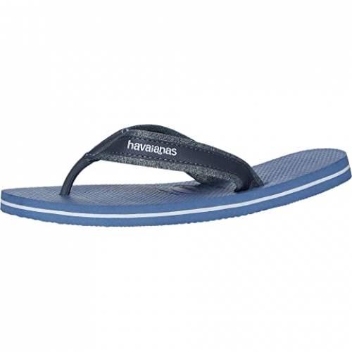 HAVAIANAS 藍色 インディゴ 青 ブルー スニーカー 【 BLUE HAVAIANAS URBAN MATERIAL SANDAL INDIGO 】 メンズ スニーカー