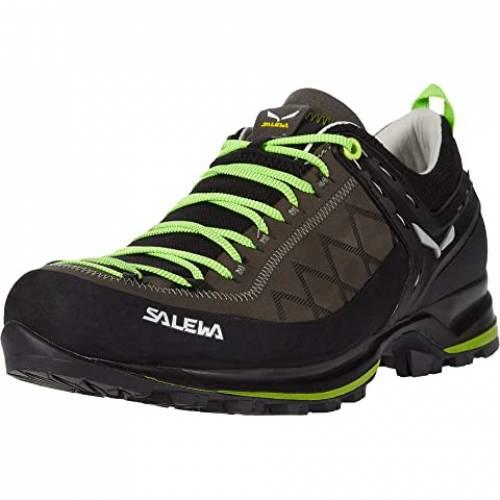 SALEWA トレーナー 緑 グリーン スニーカー 【 GREEN SALEWA MOUNTAIN TRAINER 2 L SMOKED FLUO 】 メンズ スニーカー