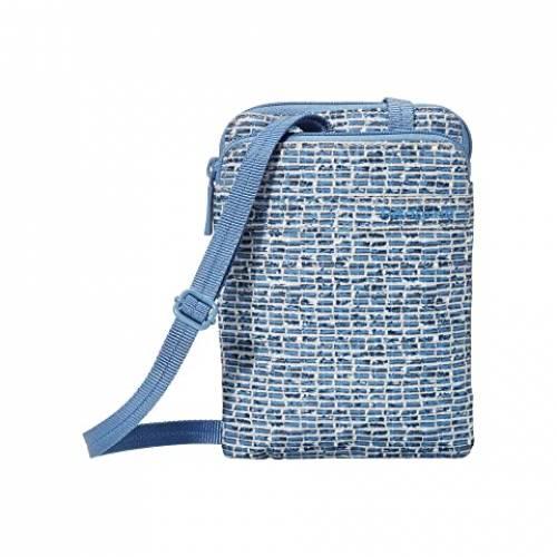 HEDGREN 青 ブルー 【 BLUE HEDGREN RUPEE PASSPORT HOLDER WITH RFID POCKET CRAFT PRINT 】 バッグ