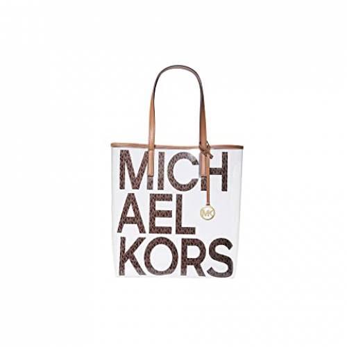 MICHAEL MICHAEL KORS バッグ 茶 ブラウン 【 BROWN MICHAEL KORS THE BAG LARGE NORTH SOUTH TOTE MULTI 】 バッグ