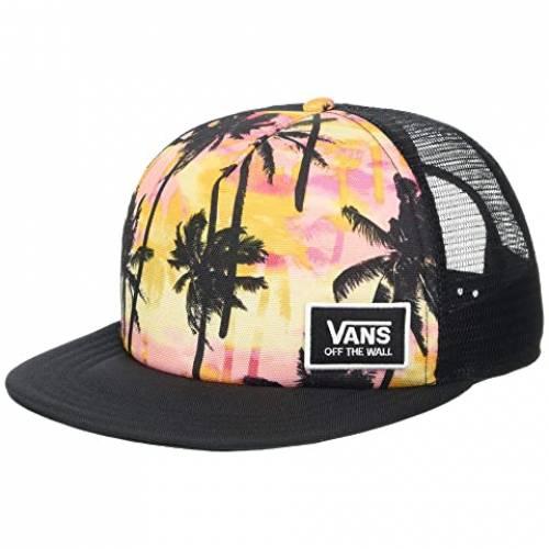 バンズ VANS バンズ トラッカー 【 VANS BEACH BOUND II TRUCKER SUNSET PALMS 】 バッグ  キャップ 帽子 レディースキャップ 帽子