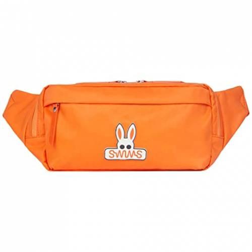 SWIMS ベルト バッグ 橙 オレンジ & 【 ORANGE SWIMS PSYCHO BUNNY BREEZE BELT BAG 】 バッグ