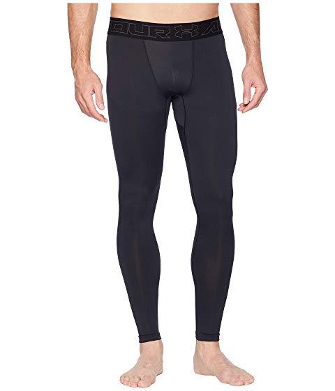 アンダーアーマー UNDER ARMOUR コールドギア レギンス タイツ 黒 ブラック チャコール 【 BLACK UNDER ARMOUR COLDGEAR LEGGINGS CHARCOAL 】 メンズファッション ズボン パンツ